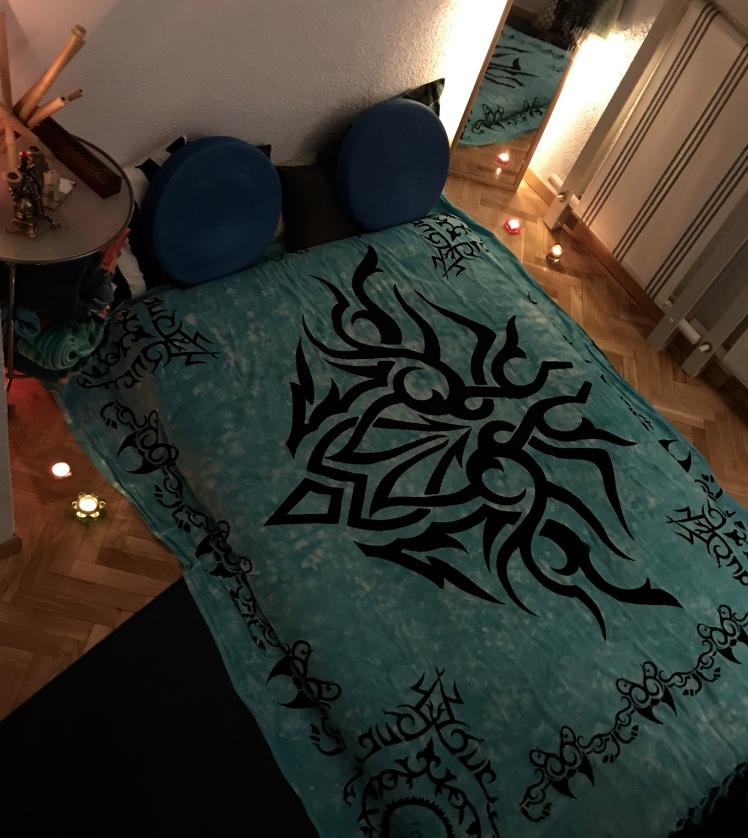 Masaje sensual Tantrico en futon